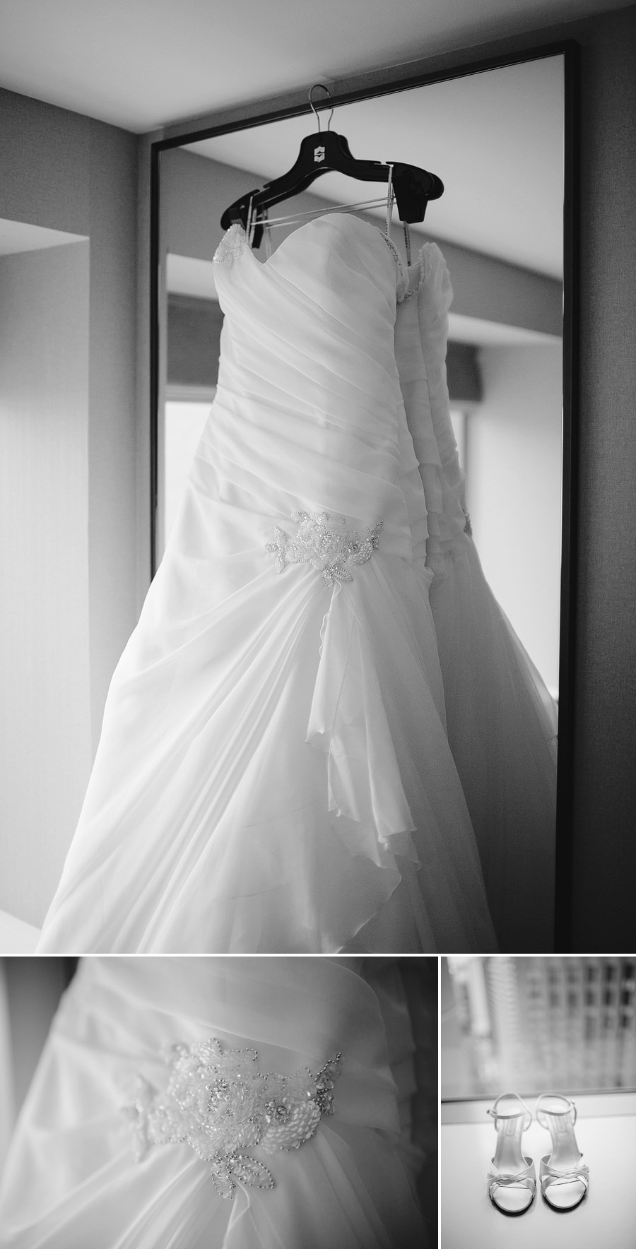Sydney Wedding Photographers: Dress & shoes