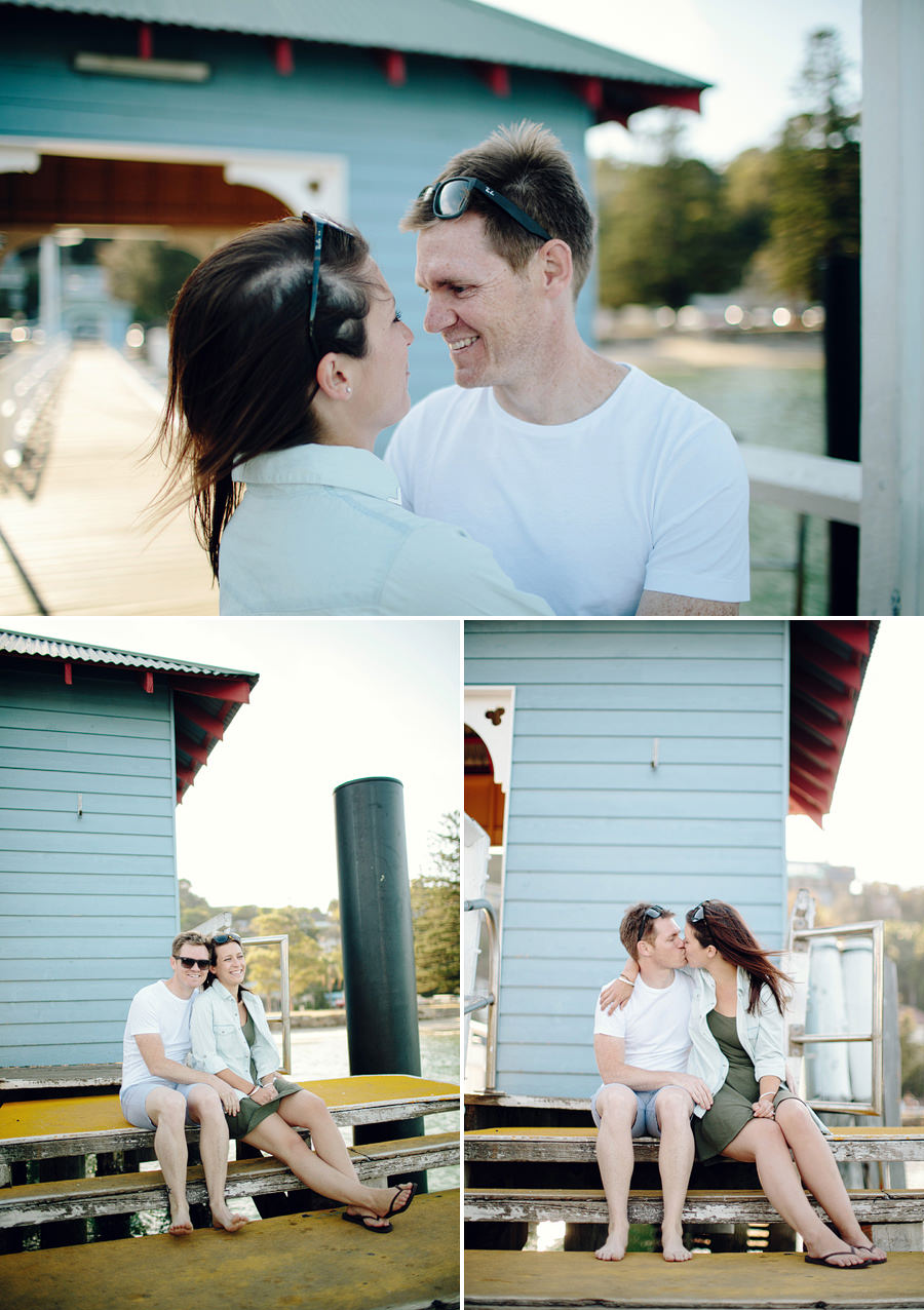 Sydney Wedding Photographers: Palm Beach Wharf