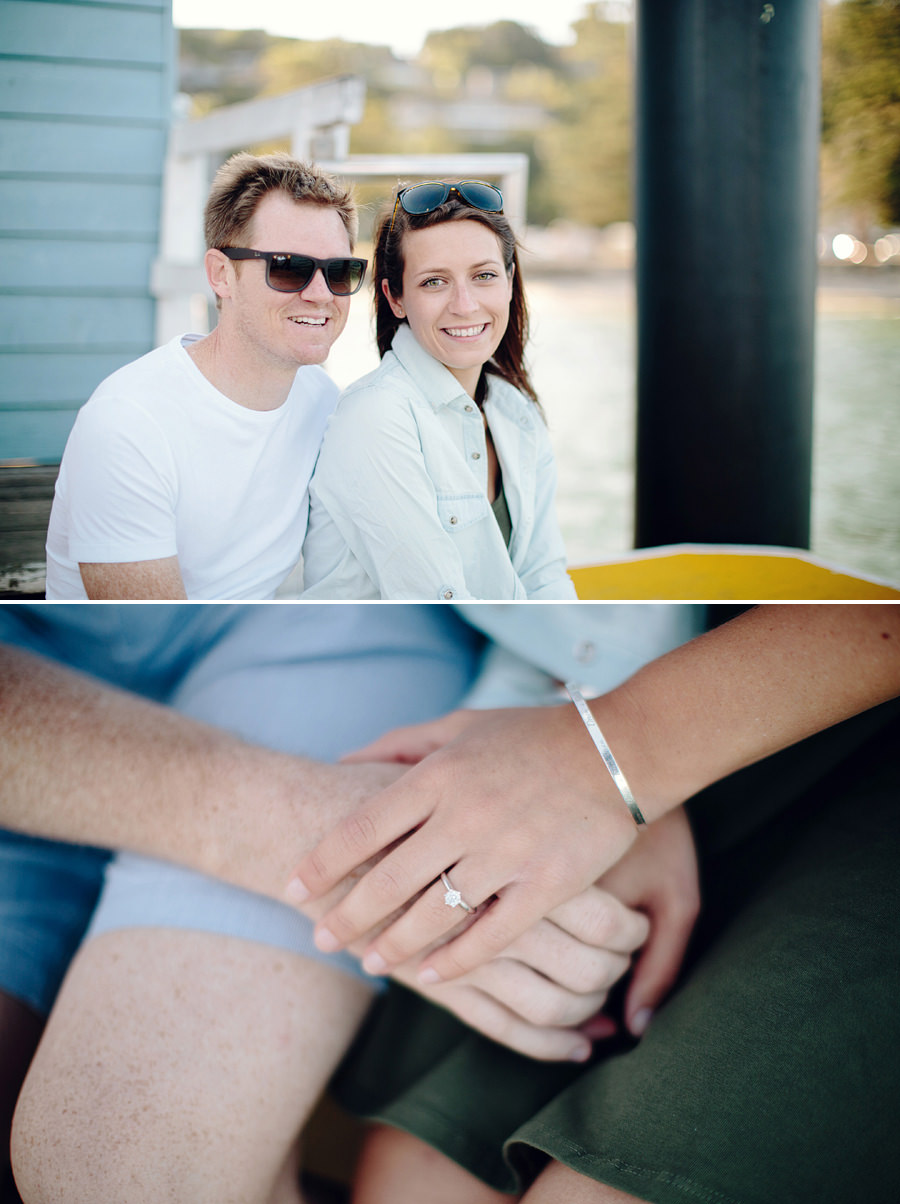 Sydney Wedding Photography: Wharf Engagement session