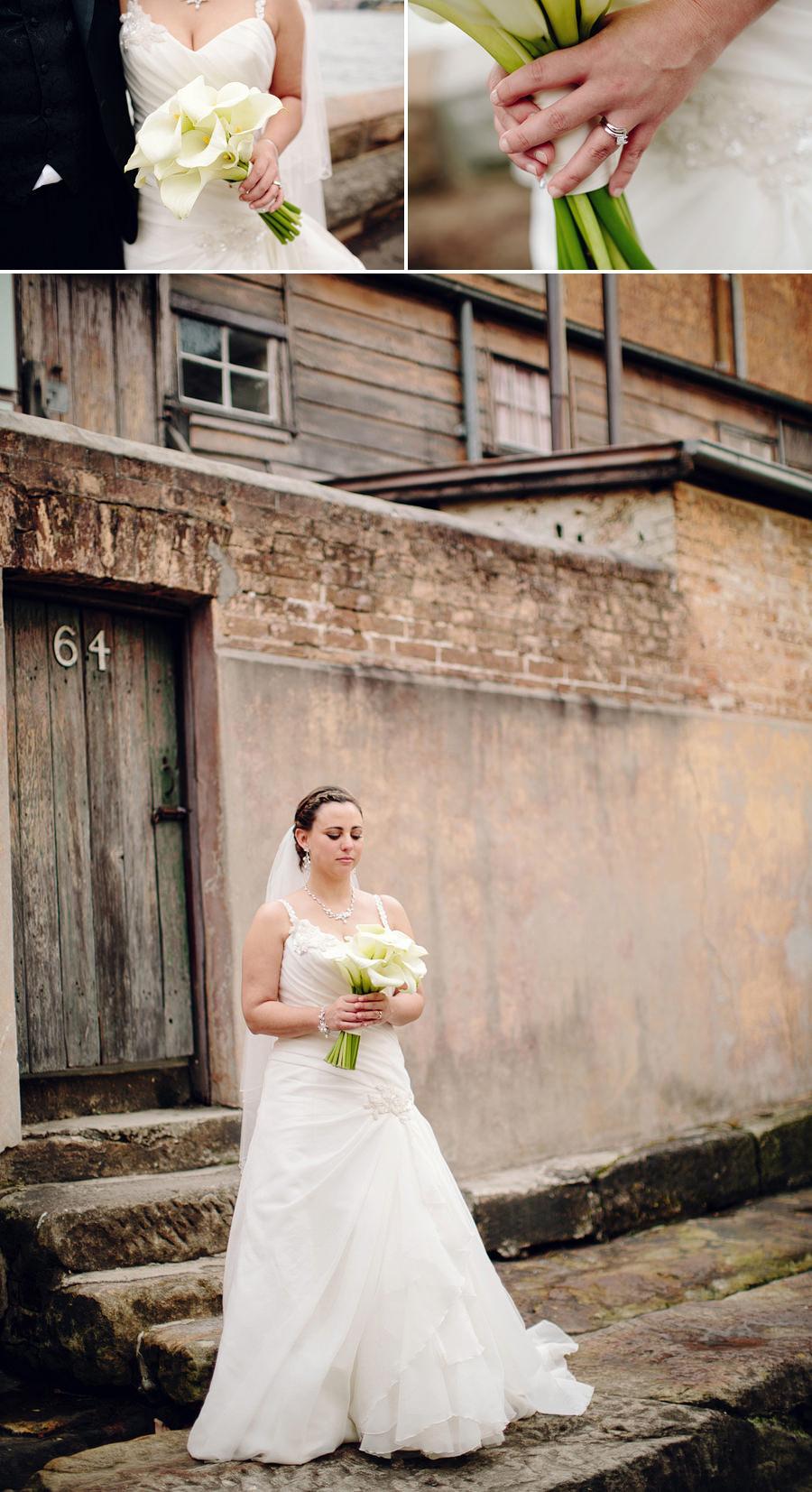 The Rocks Wedding Photographer : Bride portrait
