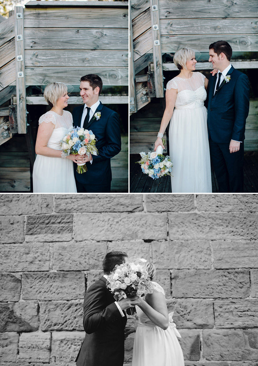 The Rocks Wedding Photographer: Bride & Groom portraits