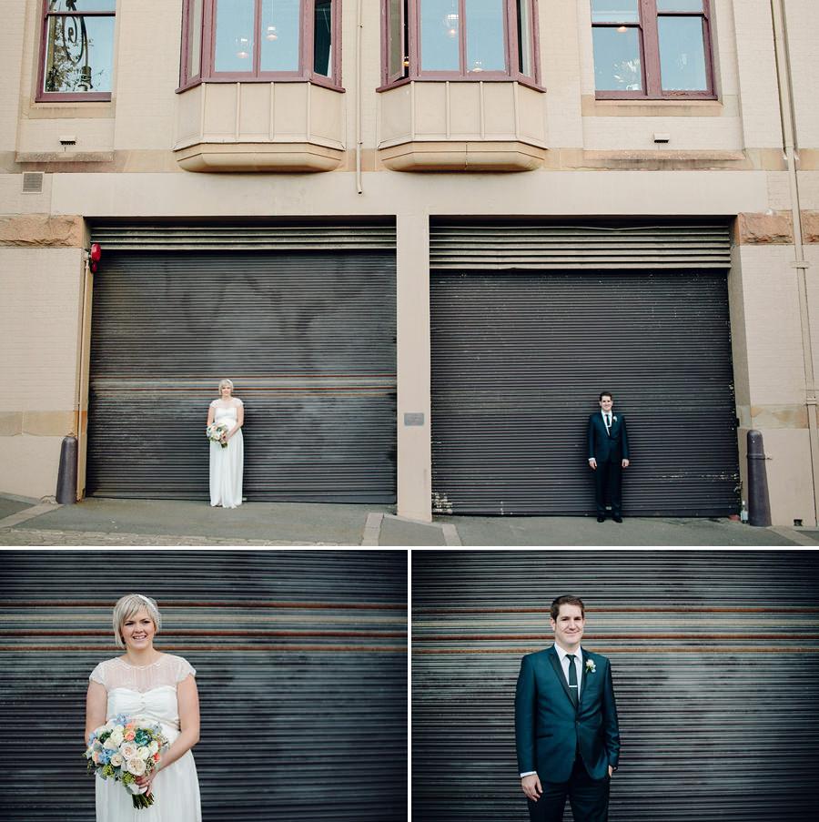 The Rocks Wedding Photographers: Bride & Groom portraits