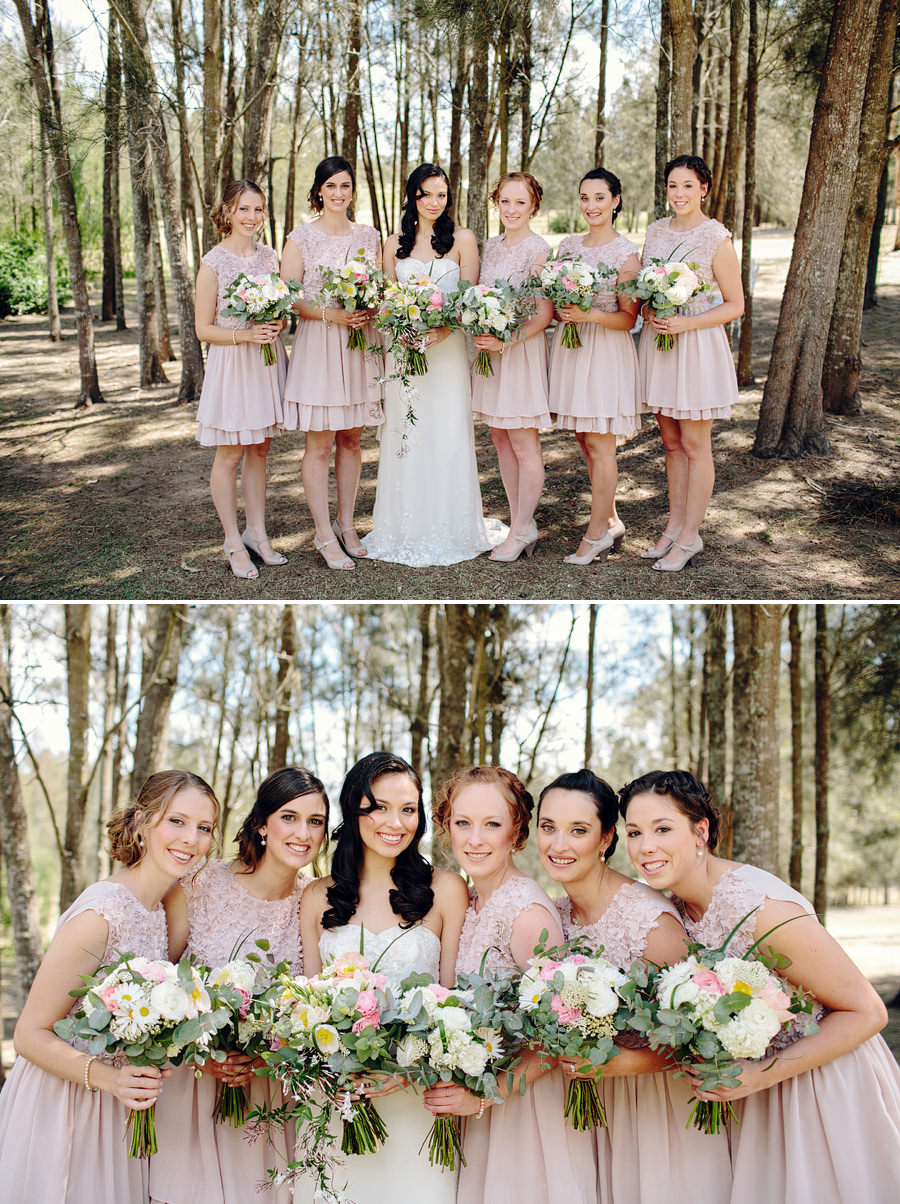 Thistle Hill Wedding Photography: Bride & bridesmaids