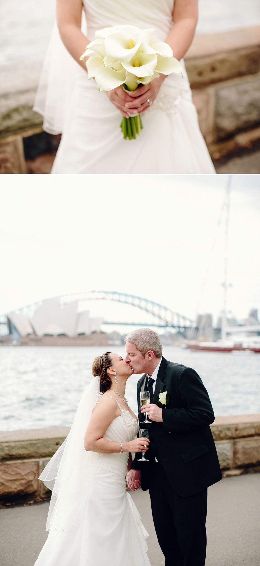 Timeless Wedding Photography: Sydney skyline