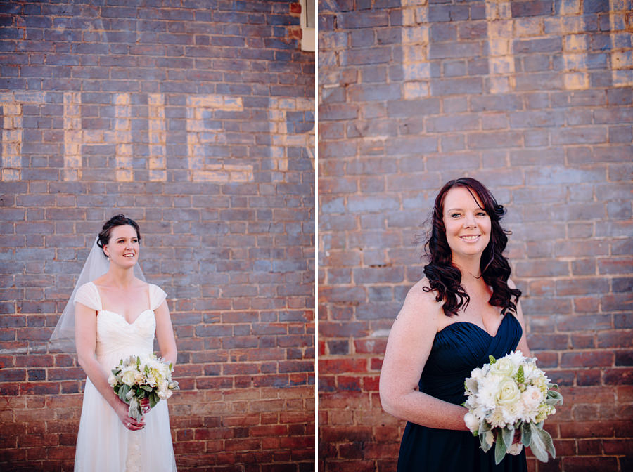Classic Wedding Photographer: Bride and bridesmaid