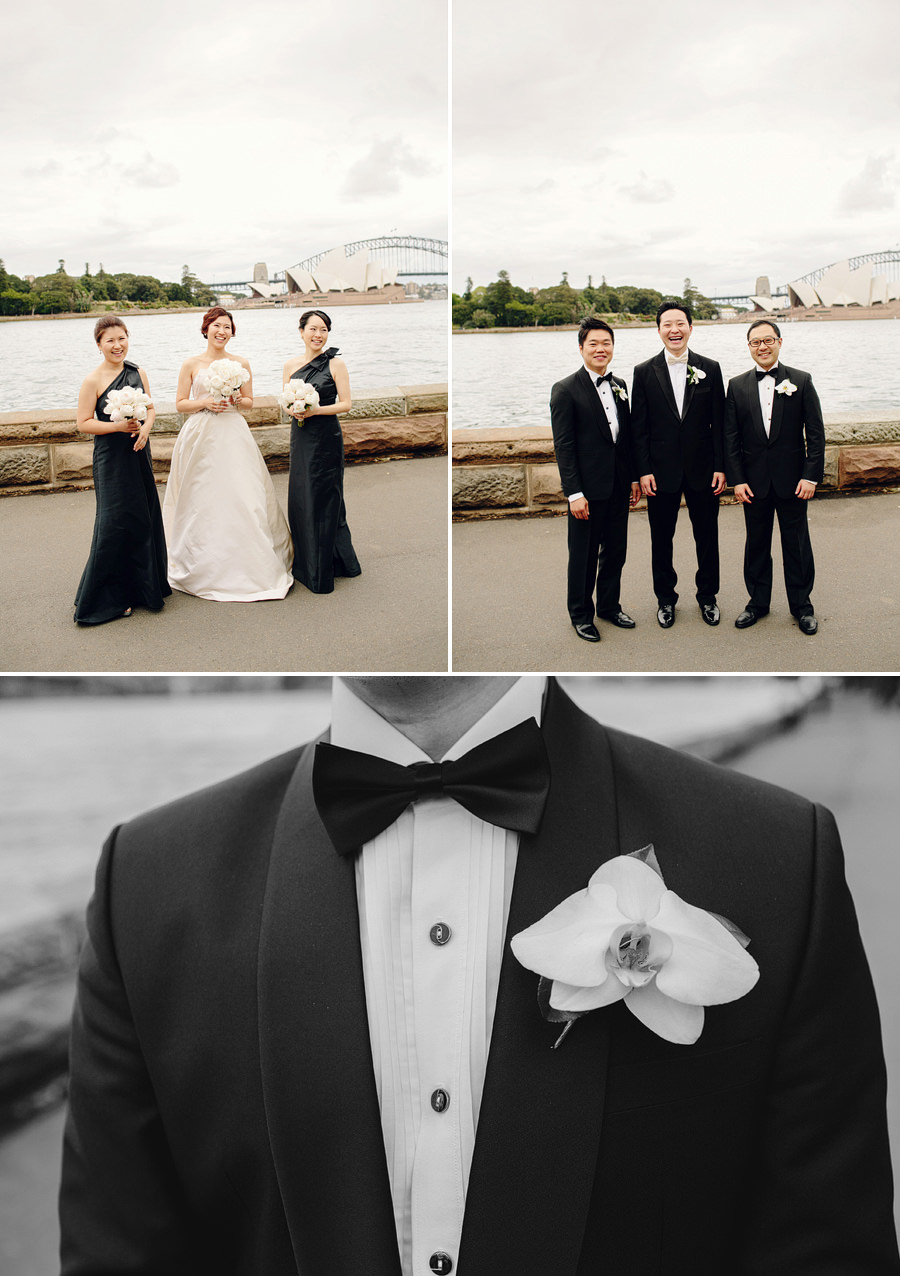 Contemporary Wedding Photographers: Bridal party