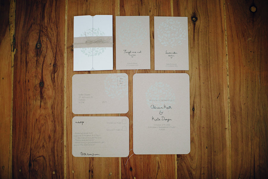 Country Wedding Photographers: Wedding Stationery