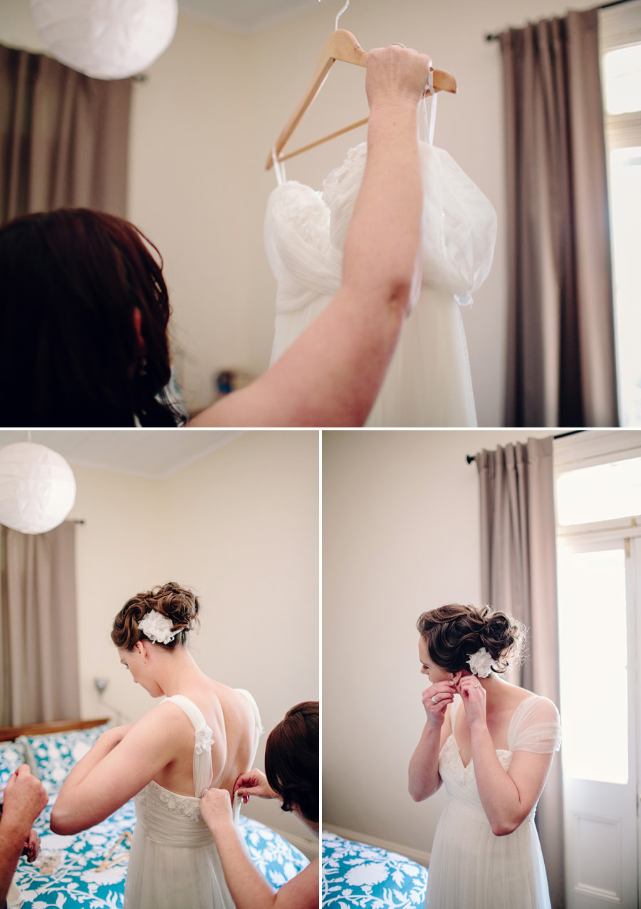 Forbes Wedding Photographer: Bride getting ready