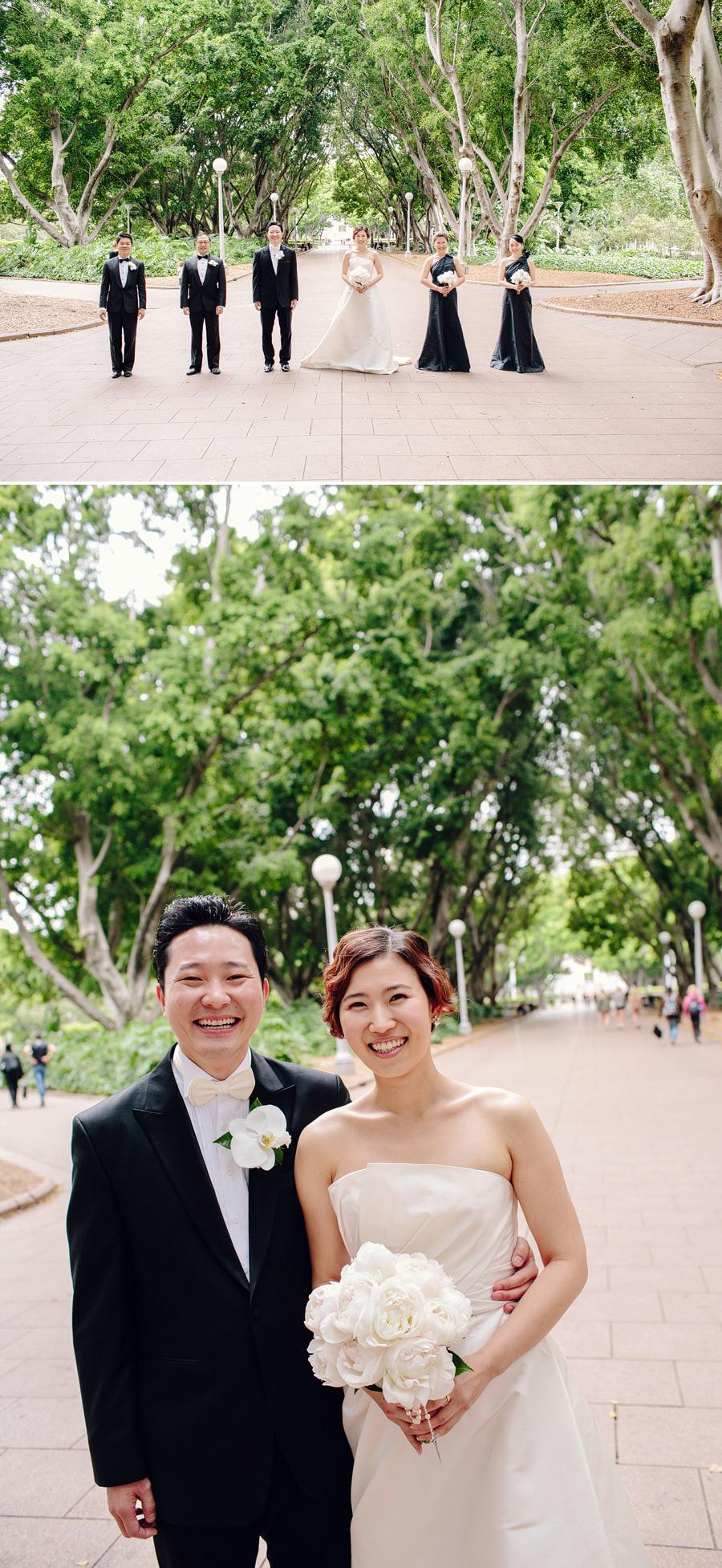 Hyde Park Wedding Photographer: Bridal party portraits