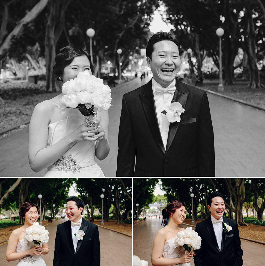 Hyde Park Wedding Photography: Bride & Groom