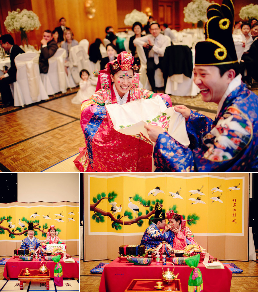 Korean Tea Ceremony Photographers: Catching chestnuts