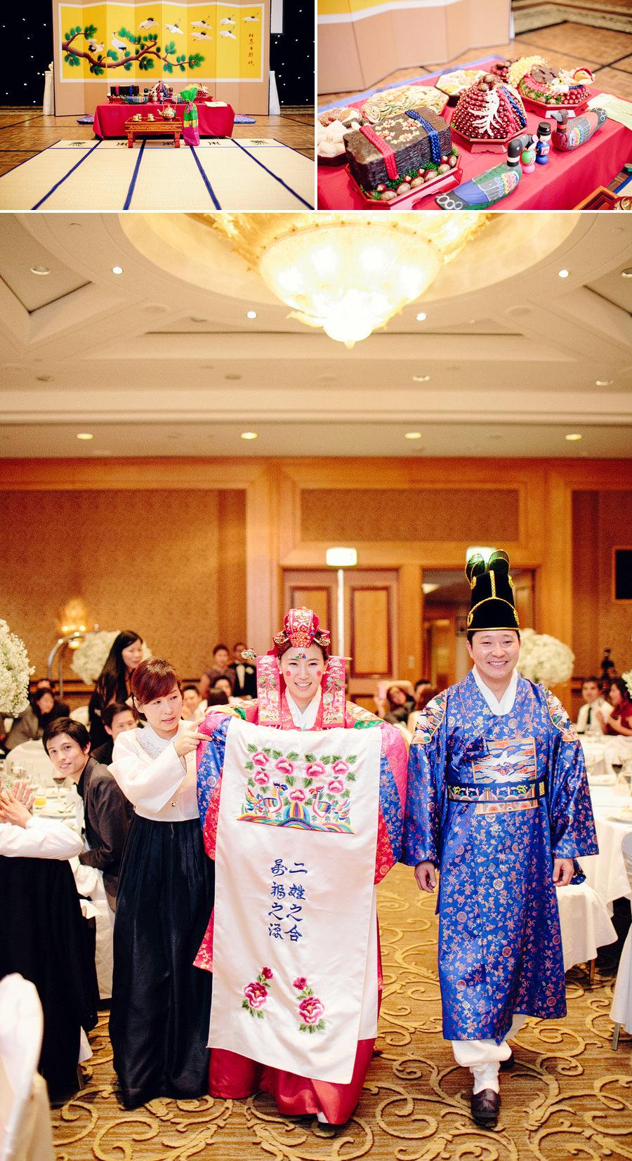 Korean Wedding Photographer: Traditional tea ceremony