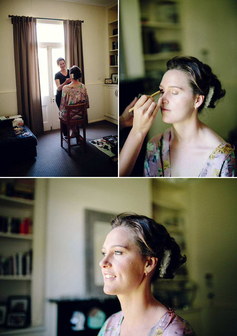 Forbes Wedding Photographer: Bridal makeup