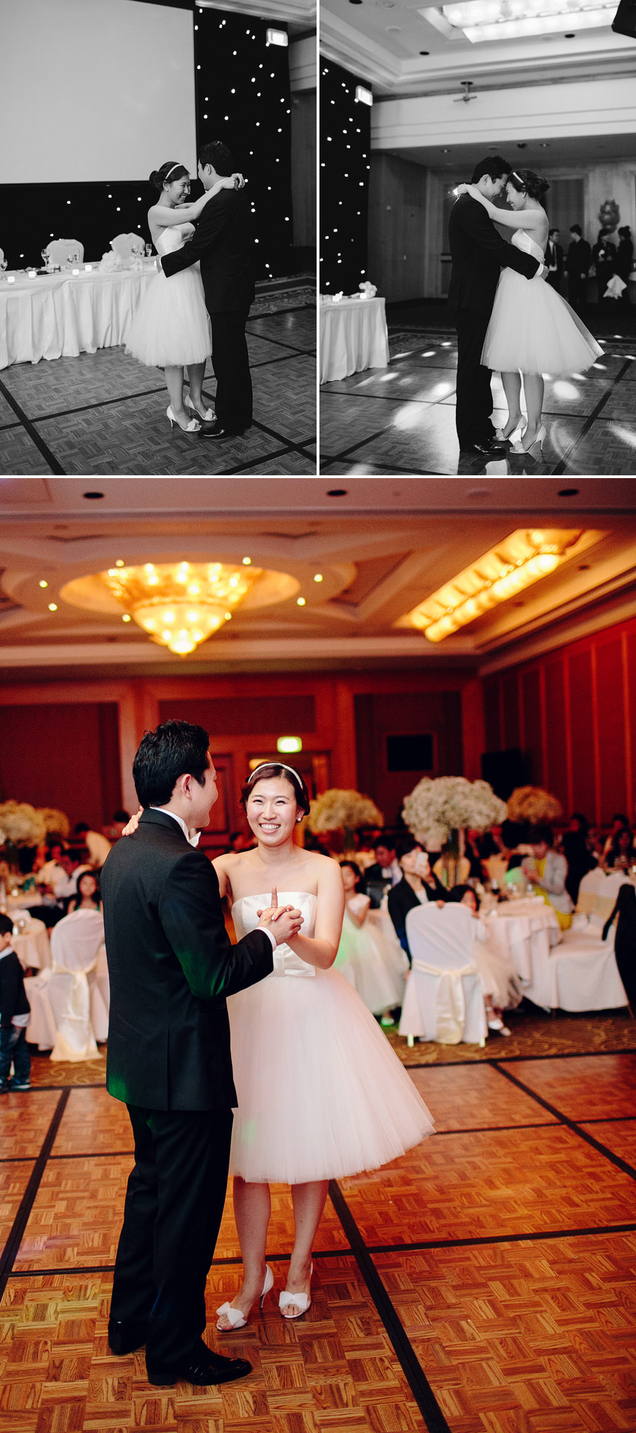 Shangrila Hotel Wedding Photograph: First dance
