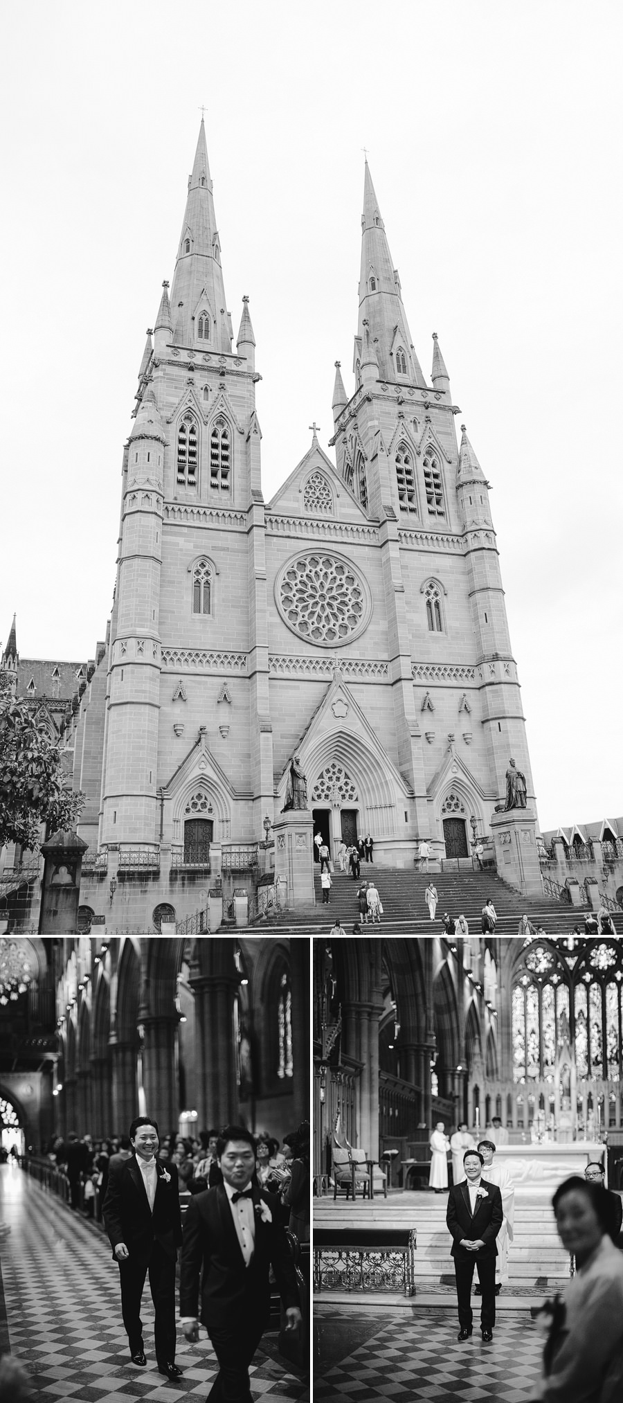 St Marys Cathedral Wedding Photographer