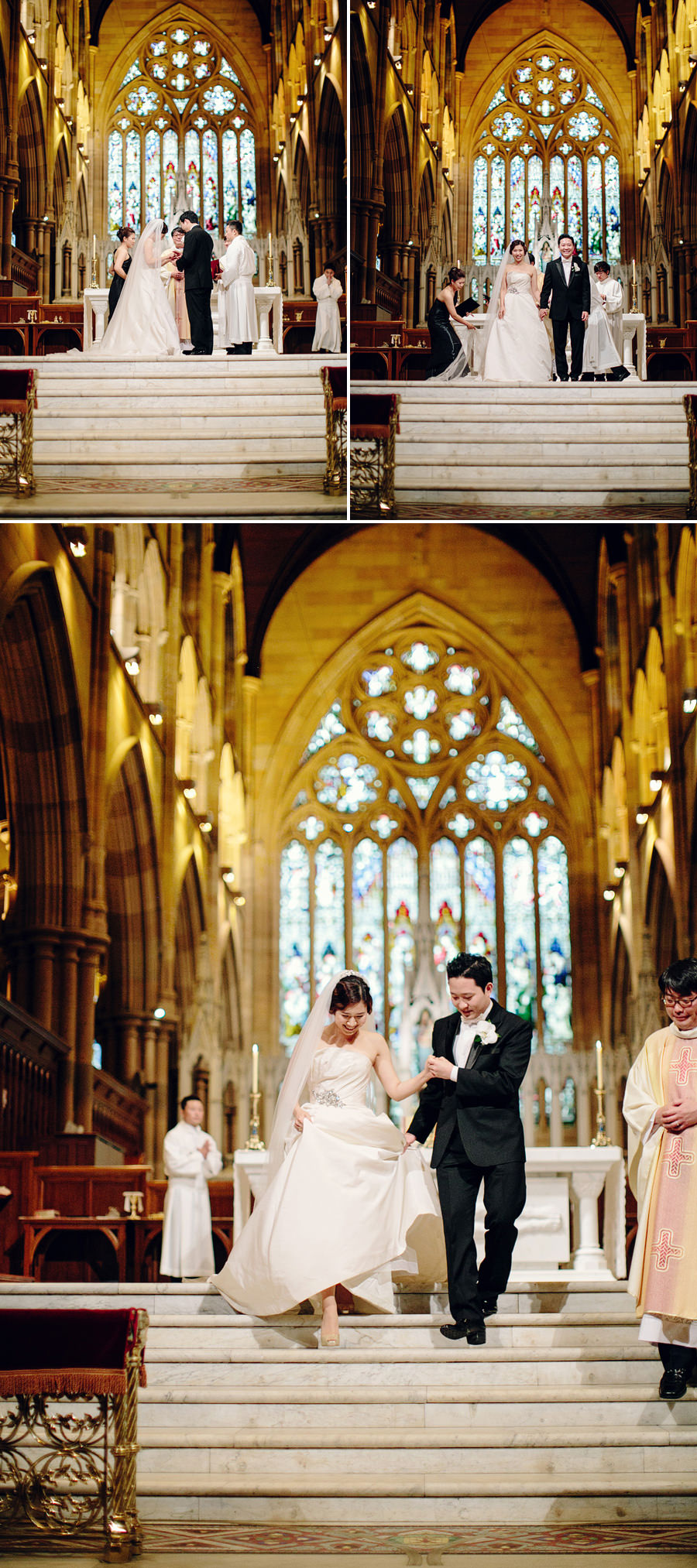 Sydney Wedding Photojournalism: Catholic Ceremony