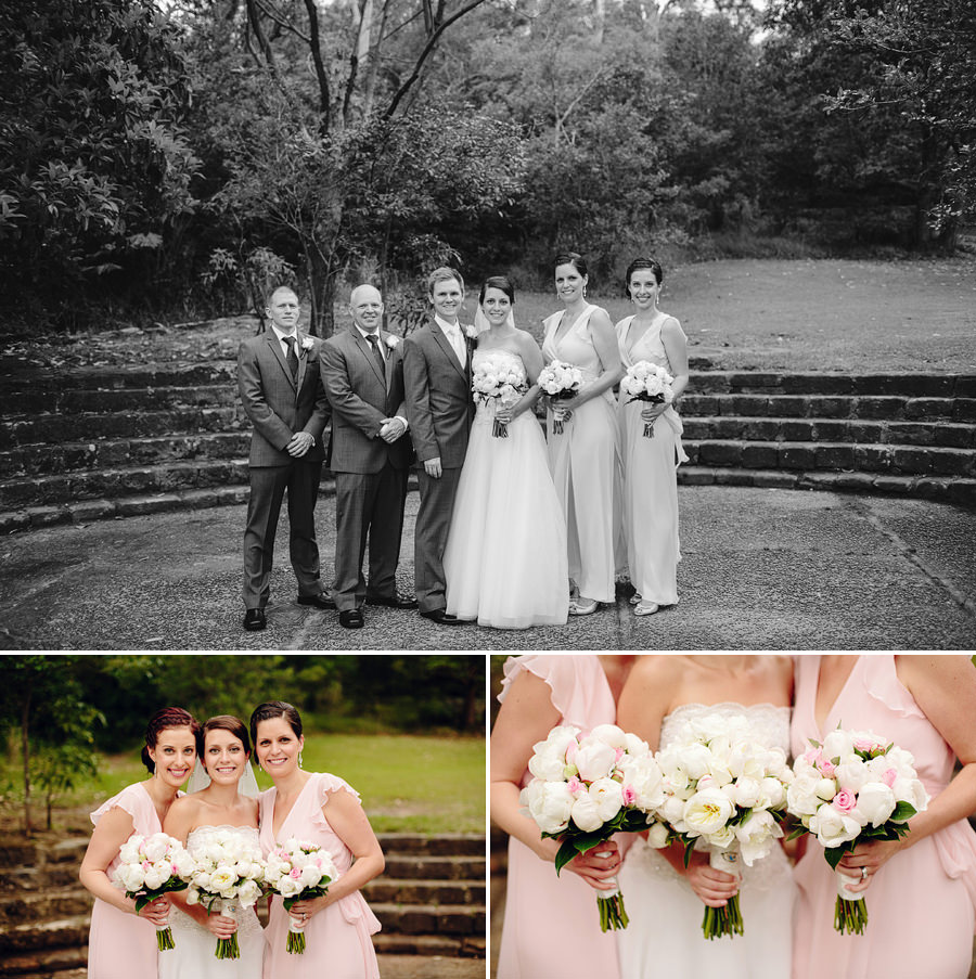 Athol Hall Sydney Wedding Photographers: Bridal party