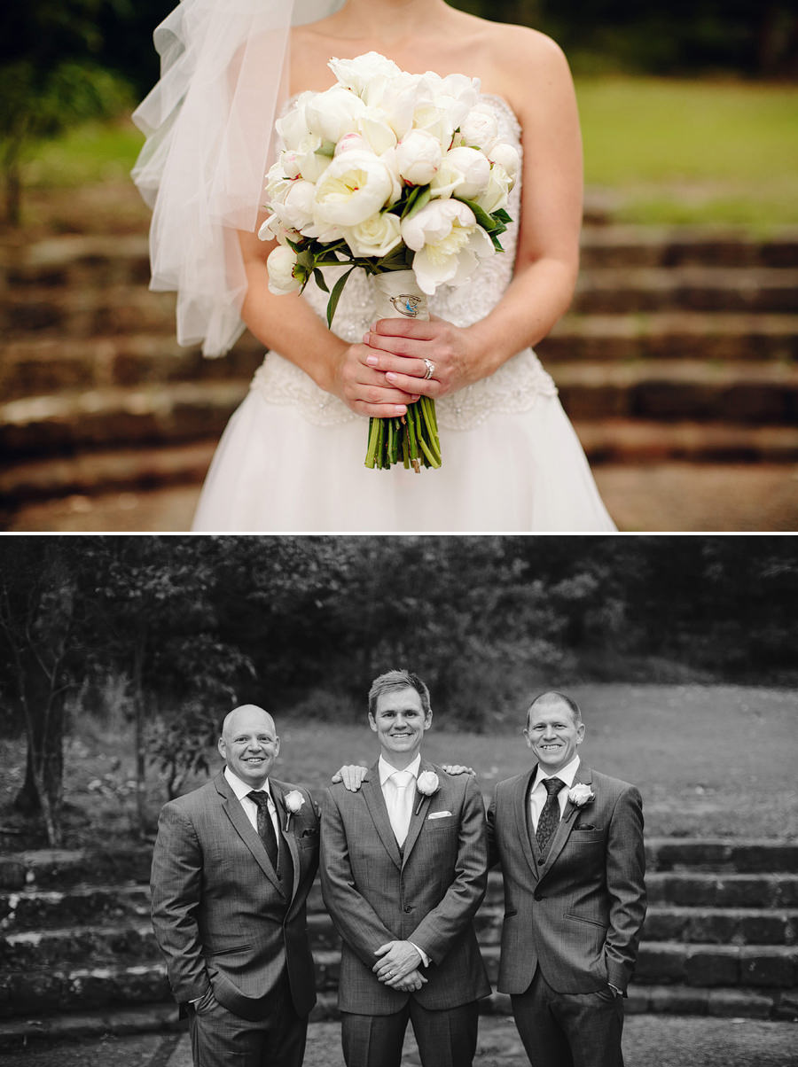 Athol Hall Sydney Wedding Photography: Groom & groomsmen