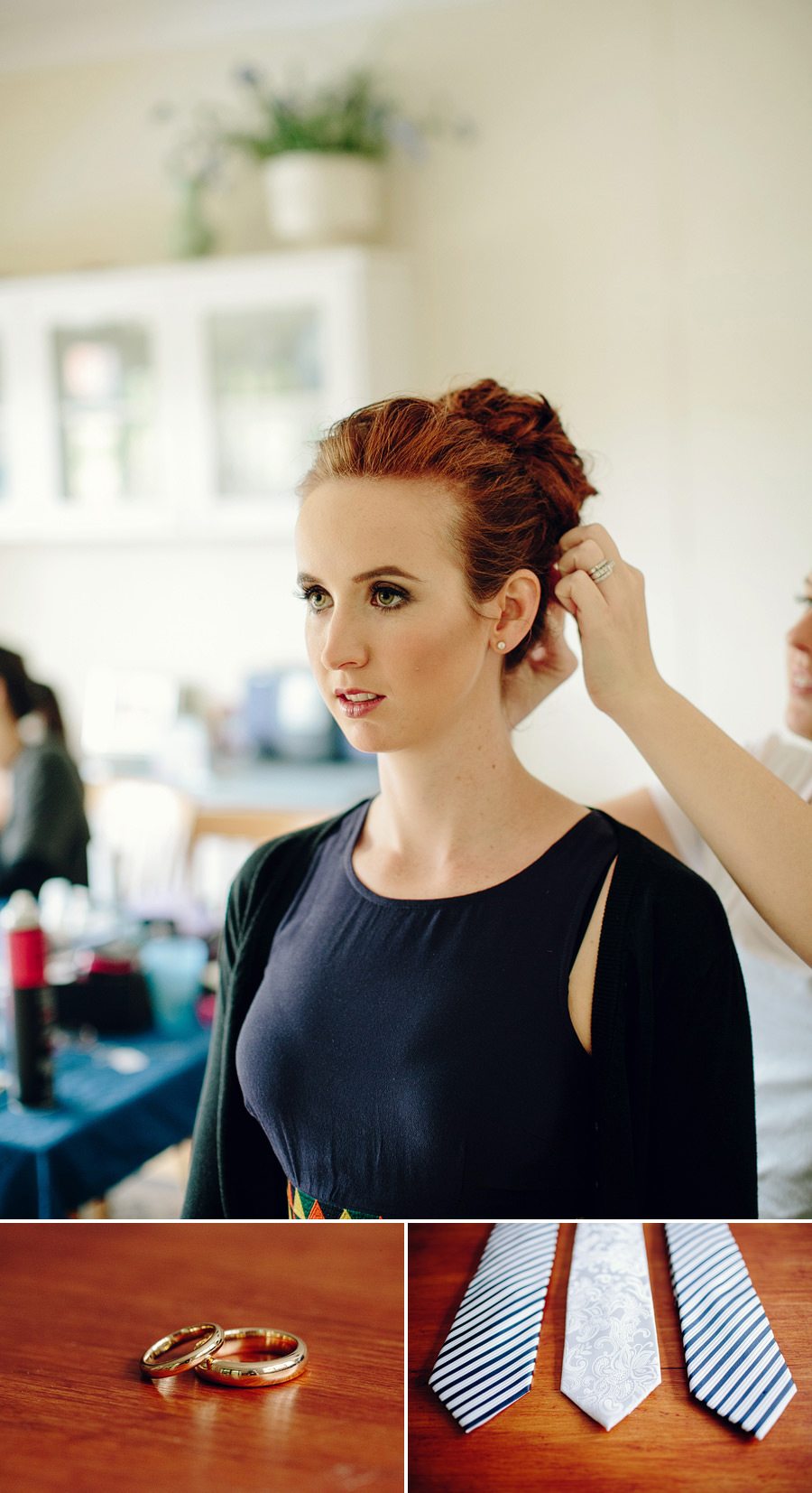Bondi Junction Wedding Photographer: Hair & makeup
