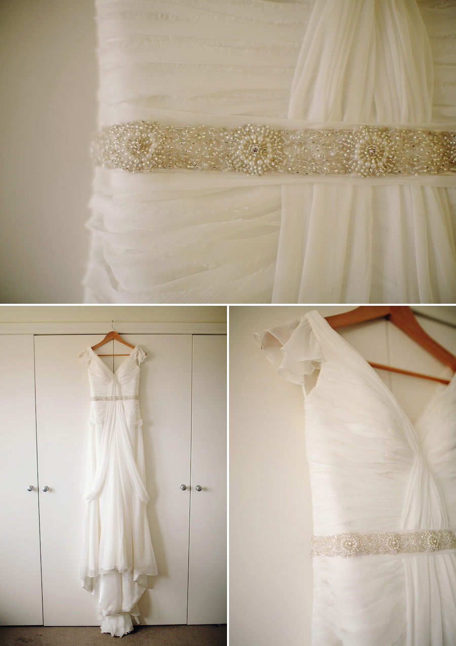 Bondi Wedding Photographer: Karen Willis Holmes Bridal Dress