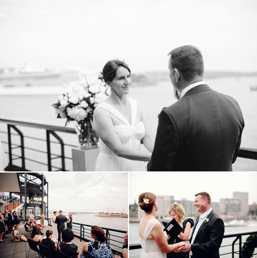 Circular Quay Wedding Photographers: Vows