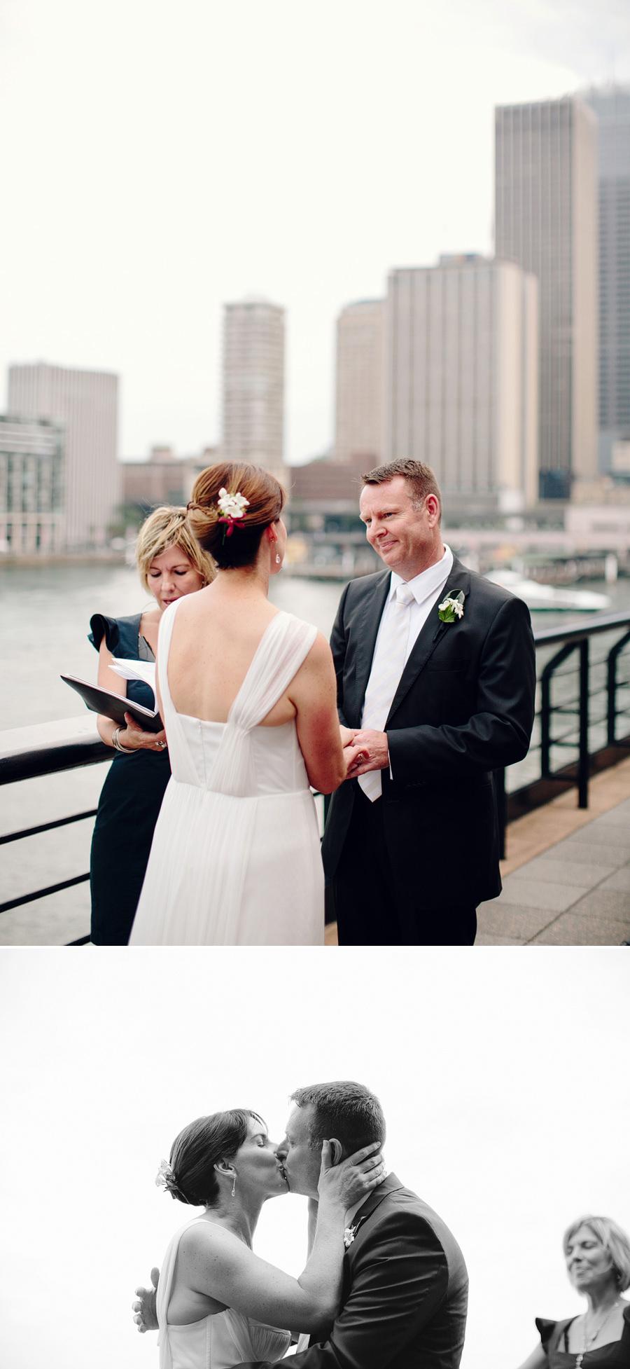 Circular Quay Wedding Photography: Vows
