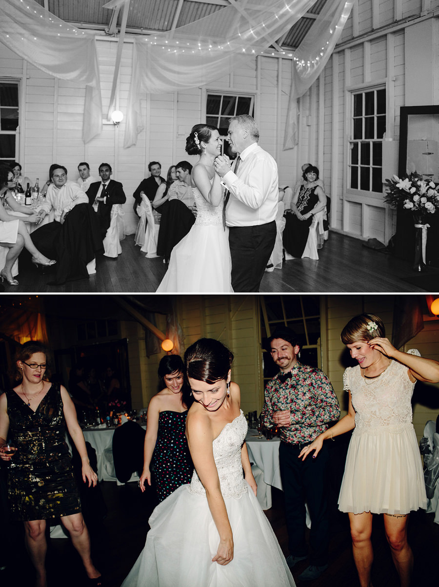 Contemporary Wedding Photographers: Father daughter dance