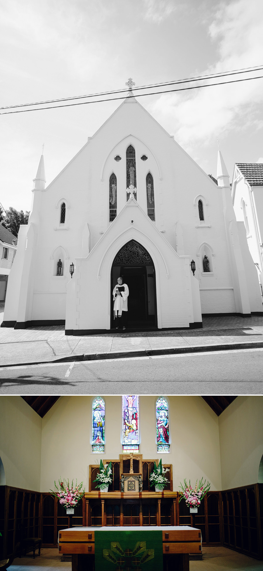 Edgecliff Wedding Photographer: Church details