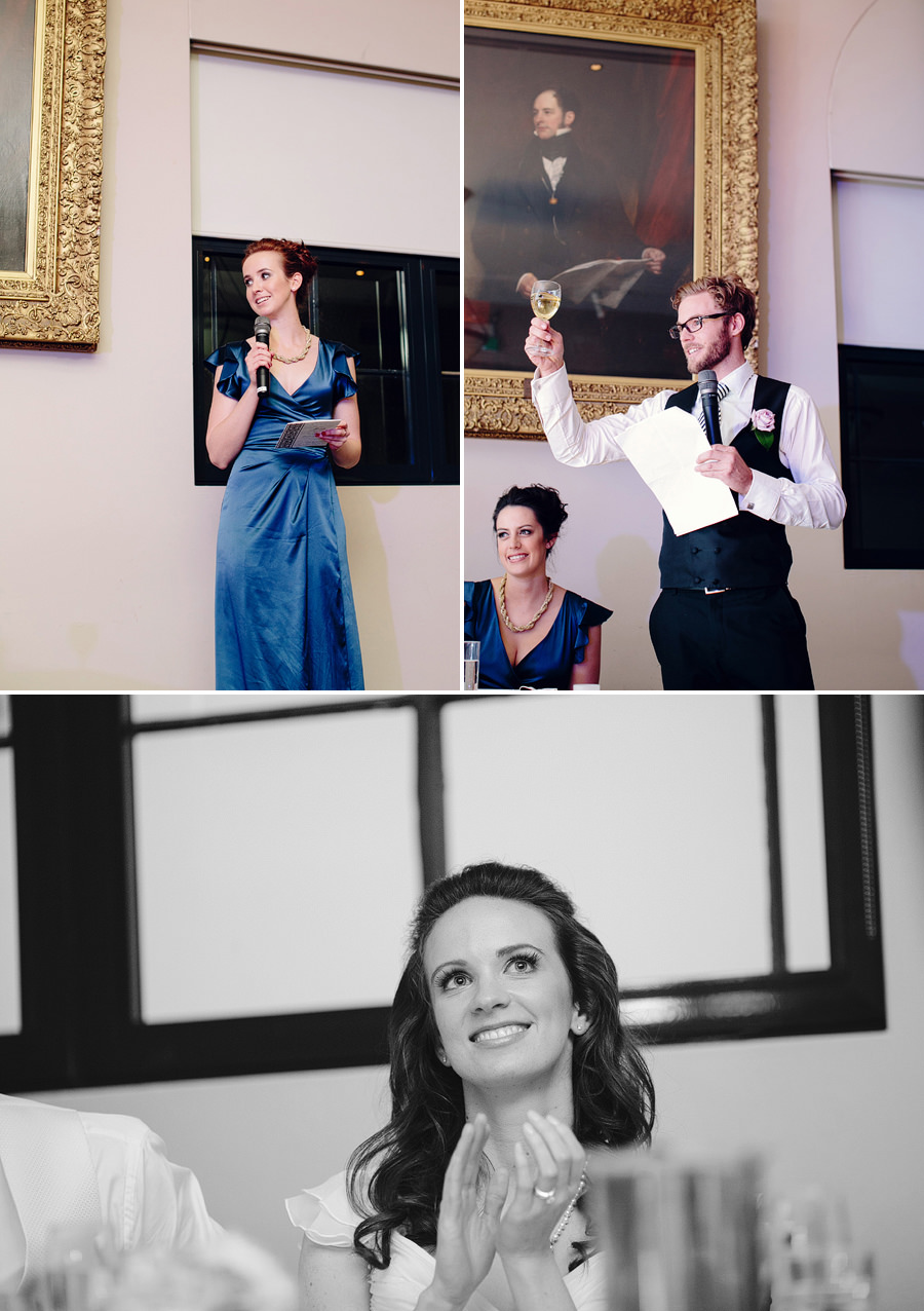 Library Wedding Photographers: Speeches
