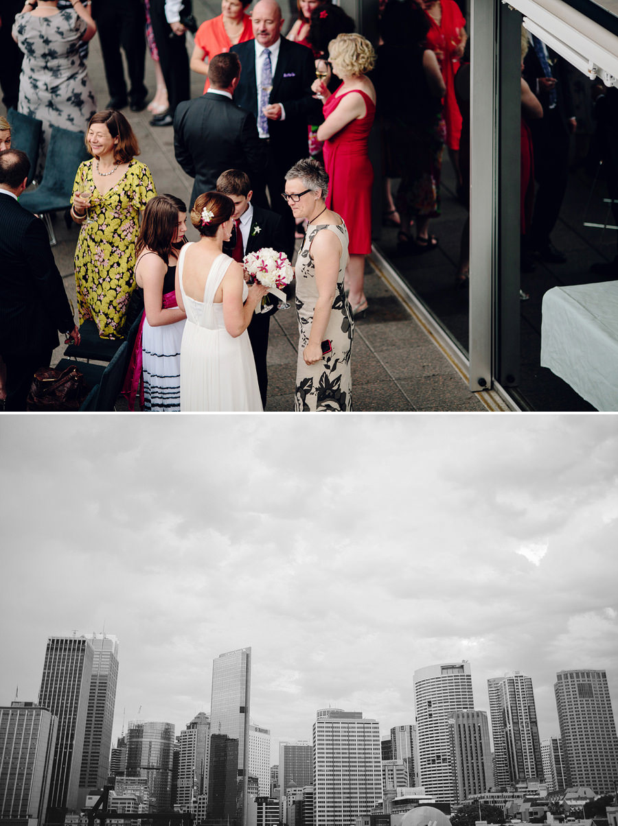 Quay Restaurant Wedding Photographers: Cityscape