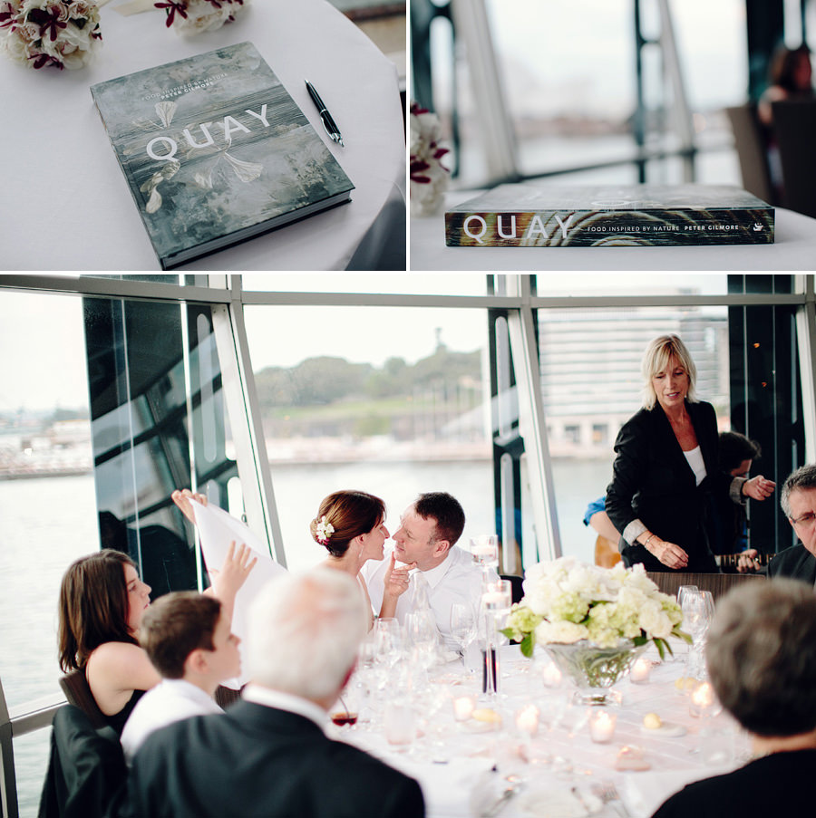 Peter Gilmore Restaurant Wedding Photography: Reception