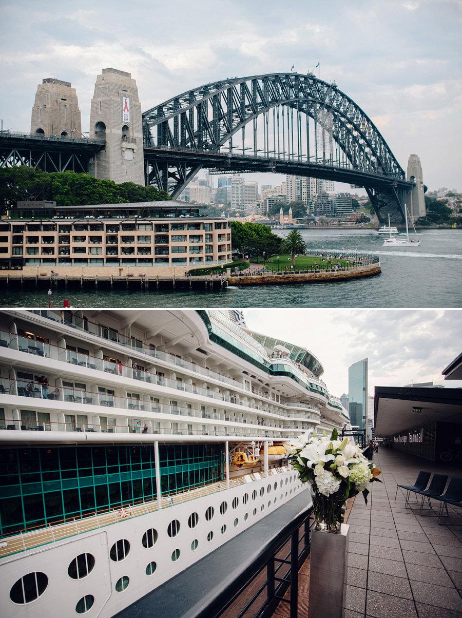 Quay Sydney Wedding Photography: Harbour Ceremony