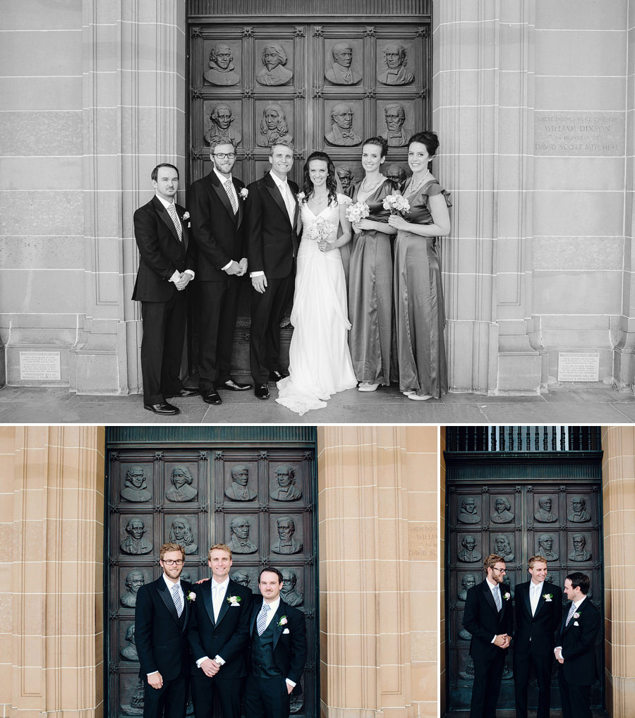 State Library of NSW Wedding Photographer: Bridal party