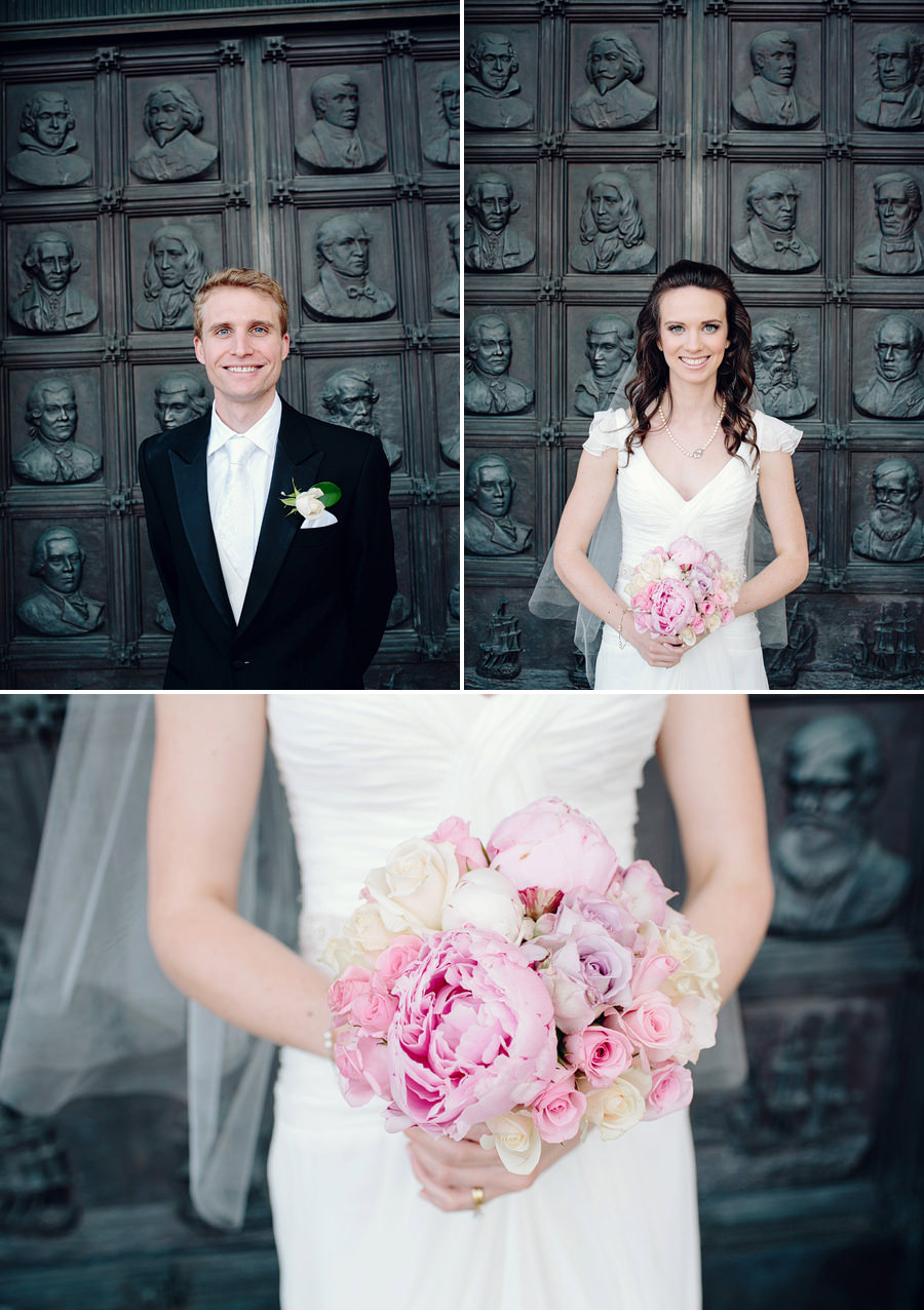 State Library of NSW Wedding Photographers: Bride & Groom portraits