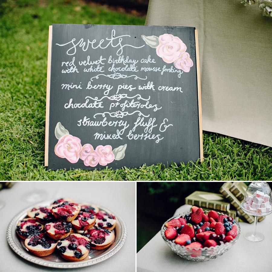 Stylist Portfolio Photographers: Dessert station