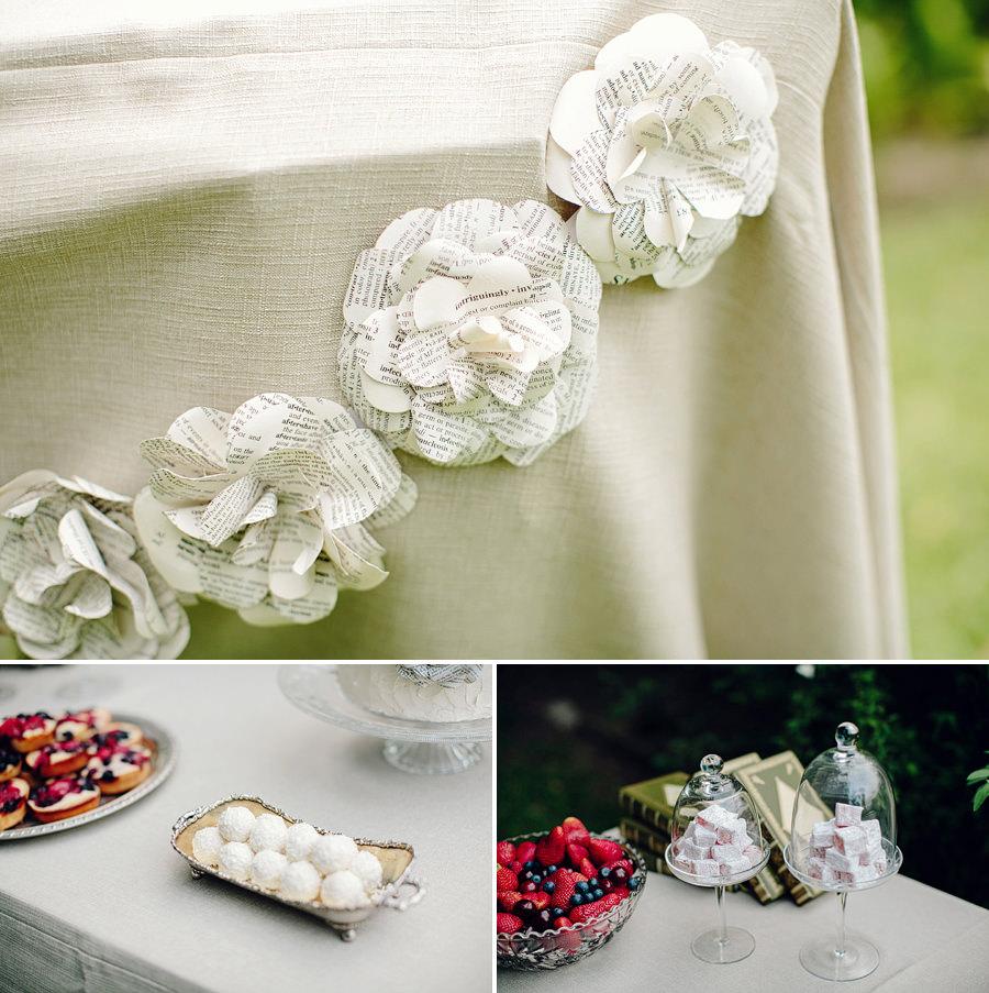 Stylist Portfolio Photography: Paper garland
