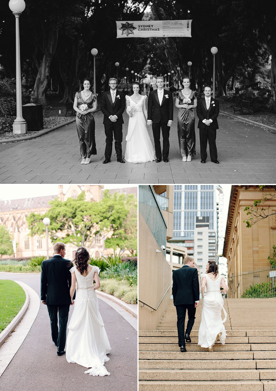 Sydney CBD Wedding Photographer: Bridal party