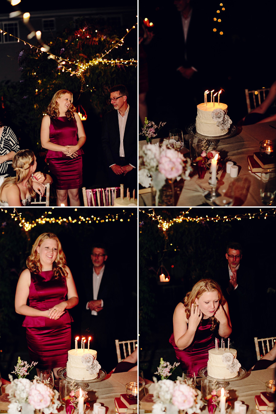 Sydney Function Photographer: Blowing out birthday candles