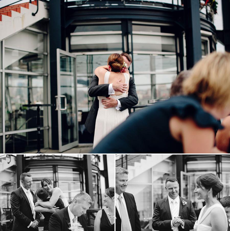 Sydney Harbour Wedding Photographers: Cocktail hour