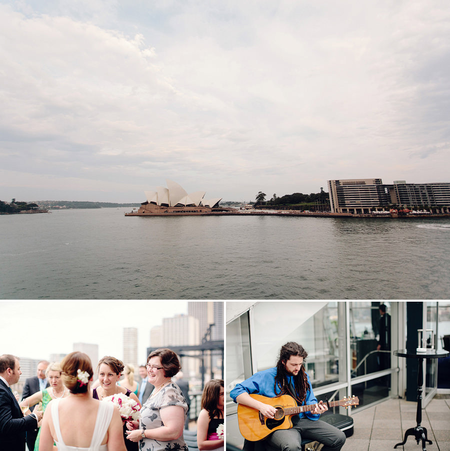 Sydney Harbour Wedding Photography: View from Quay
