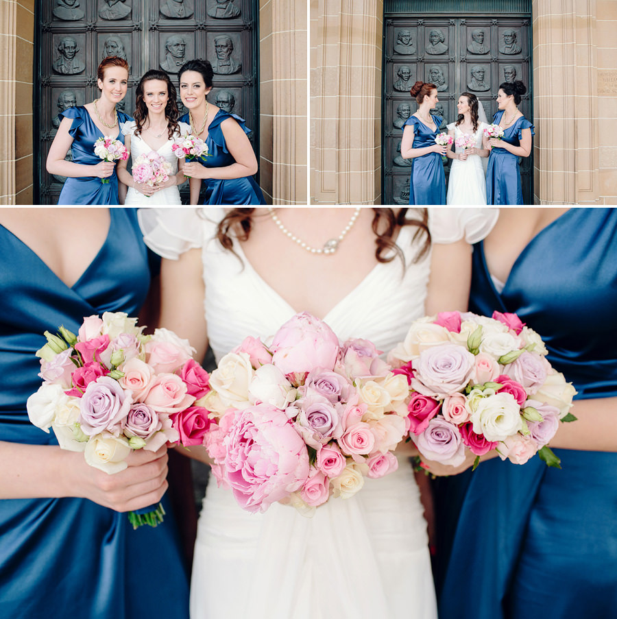 Sydney Wedding Photographers: Bride & Bridesmaids