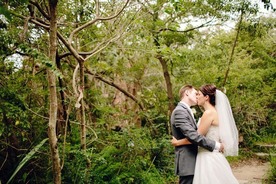 Sydney Wedding Photographers: Bride & Groom kissing