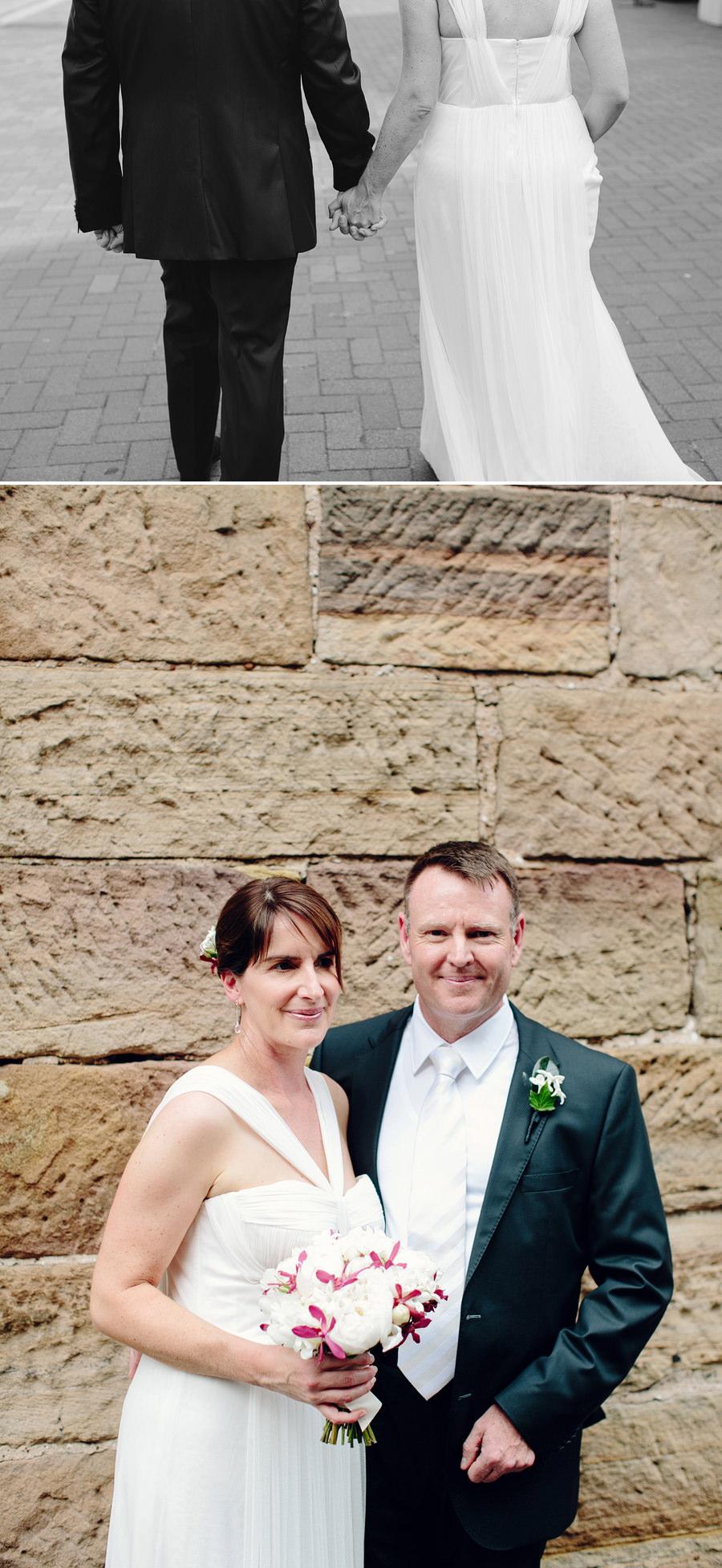 Sydney Wedding Photography: The Rocks first look