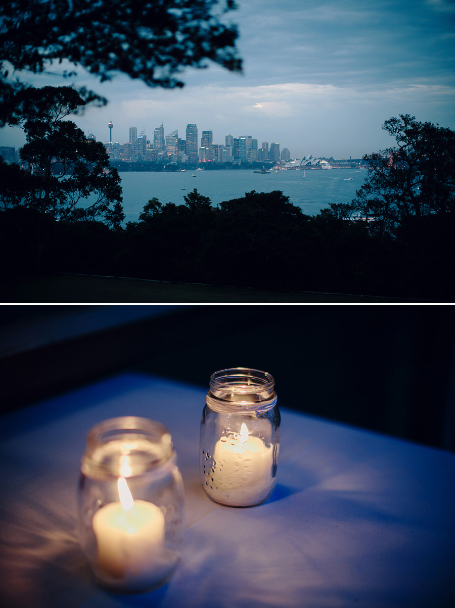 Sydney Wedding Photography: Sydney Harbour view