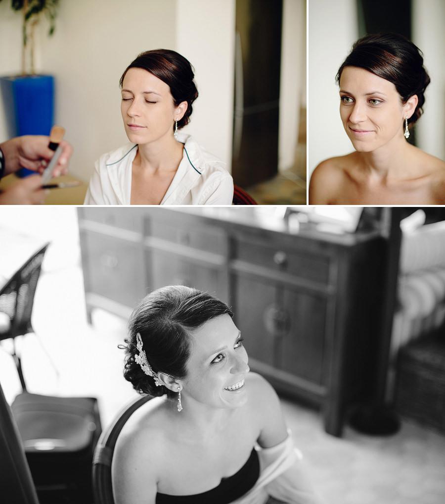 Sydney Wedding Photojournalist: Bride having makeup done