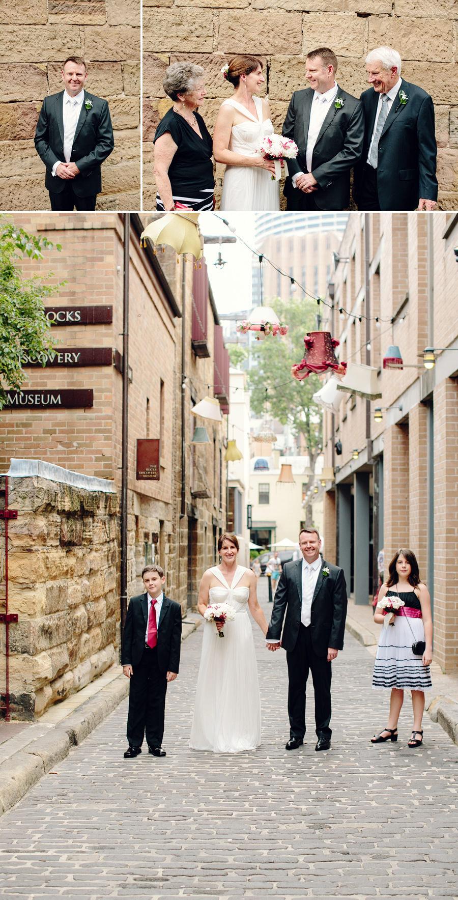 The Rocks Wedding Photographer: Bridal party
