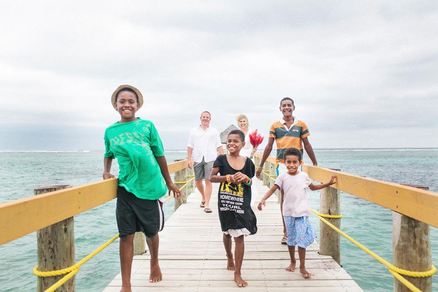 Fiji Wedding Photographer: Kellee & Mark at Maui Bay