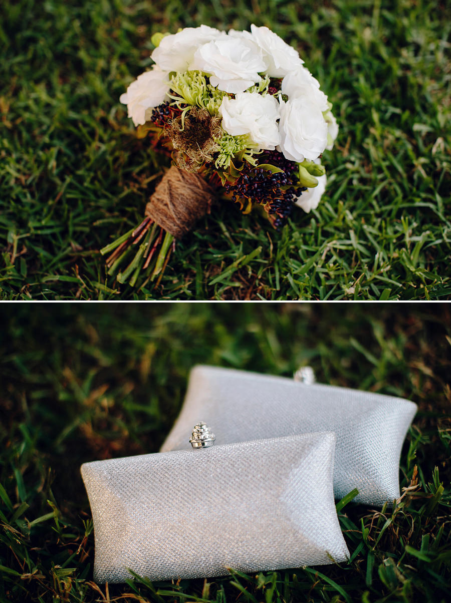 Sydney Wedding Photographer: Bouquet & clutches