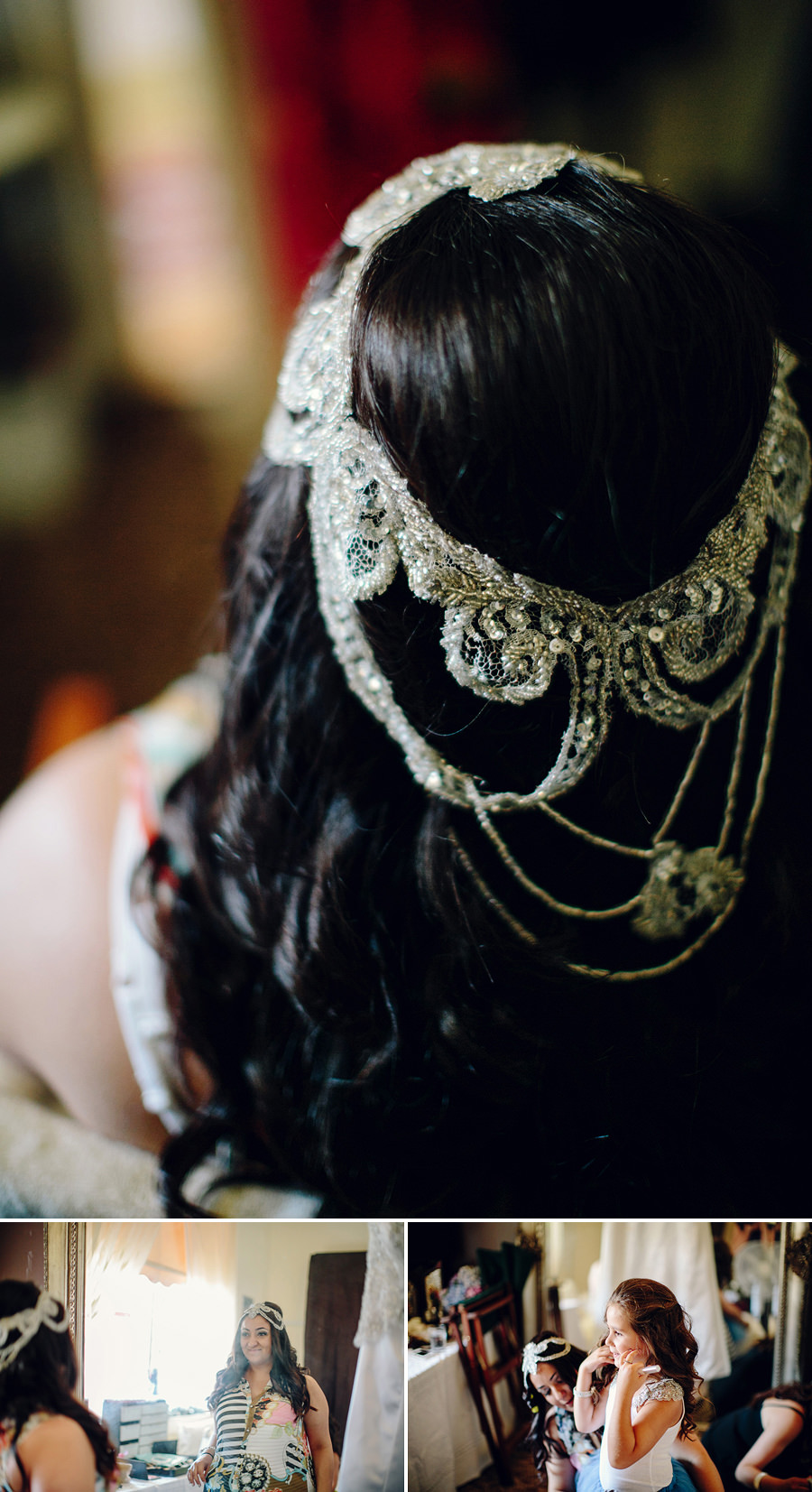 Marouba Wedding Photography: Bridal headpiece
