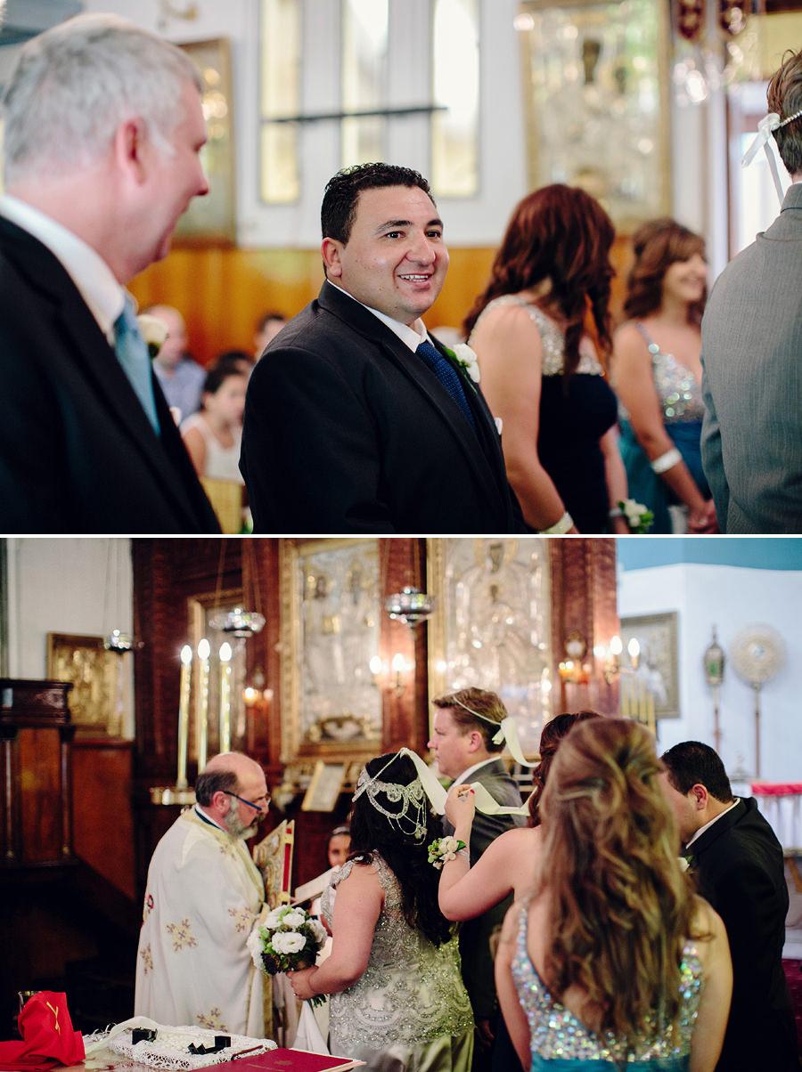 Orthodox Wedding Photographers: Walking around altar